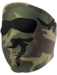 "CAGOULE / MASQUE NEOPRENE ""CAMOUFLAGE"" - AIRSOFT / PAINTBALL / MOTO / SKI / OUTDOOR"