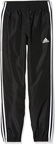 adidas Kinder Gear Up Woven Hose, schwarz (Black/White), 176 (Kinder-angeln Gear)