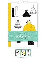 Fashionista: Set of Three 48-page Blank Notebooks