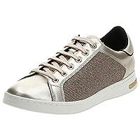 Geox Jaysen, Women's Sneakers, Gold (Gold/Light Gold), 38 EU
