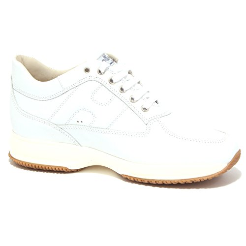 4593Q sneaker uomo HOGAN INTERACTIVE bianco shoe men Bianco