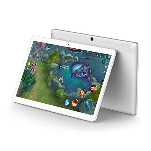 TECLAST A10S Tablet de 10.1 Pulgadas,  1920 × 1200 FullHD IPS (Android 7.1,  2 GB/32 GB,  Doble WiFi,  Bluetooth 4.0,  GPS,  Ángulo de visión de 178 °,  Cuerpo de Metal Integrado)