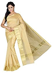 PavechaS Cotton Silk Saree (Mk2759_Beige)