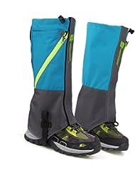 Ivebetter étanche Neige Sable Legging Guêtres couvertures pour extérieur randonnée Climbing-1Paire