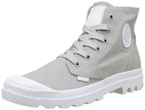 Palladium Unisex-Erwachsene Pampa Hi Blanc Hohe Sneaker, Grau (Vapor/White/White G22), 42 EU (Sneakers Hi Herren Grau Weiß)