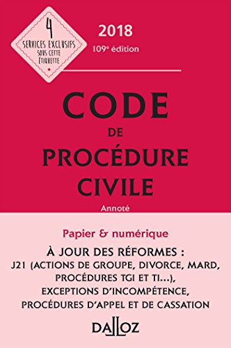 Code de procédure civile par From Dalloz-Sirey