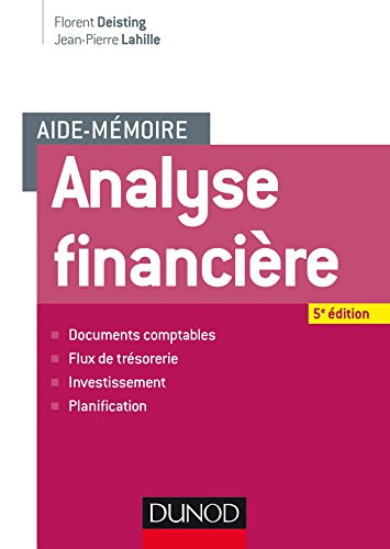 Aide-mmoire - Analyse financire - 5e d. (finance licence t. 1)