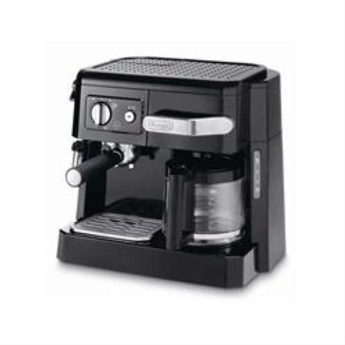 De'Longhi 132504008 Kombi-Kaffeemaschine 15 Bar, Ese/Filter Bco 410 Sw Espressoautomat