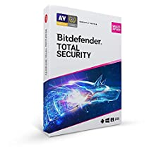 Bitdefender Total Security - 5 Apparaten | 1 Jaar | PC/Mac | Activatiecode met de post verstuurd