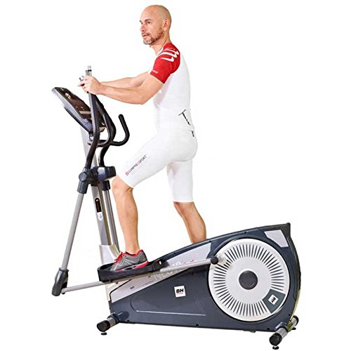 BH Fitness - Bicicleta elíptica NLS18 Dual