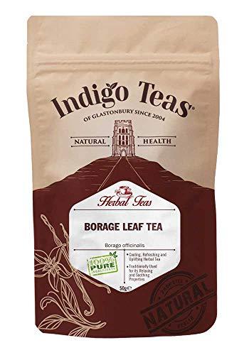 Indigo Herbs Borretsch Blatt | Borago officinalis Tee 50g