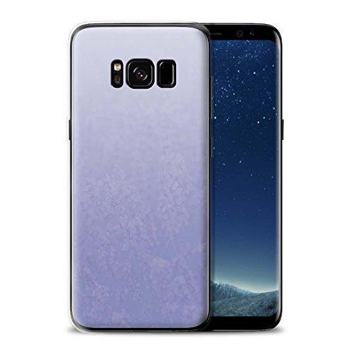 Stuff4® Gel TPU Hülle/Case für Samsung Galaxy S8/G950 / Lavendel/lila Muster/Abstrakt Ombre Kollektion -