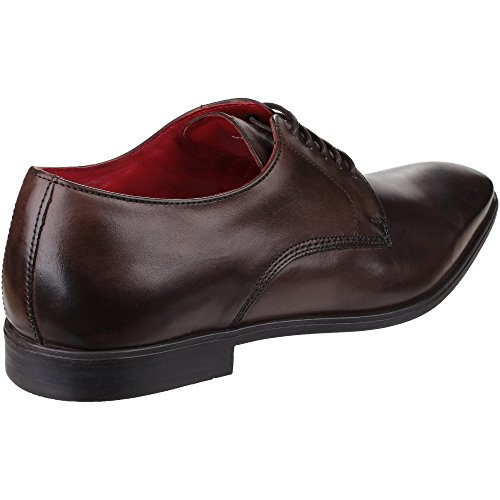 Base London Herren George Stiefel Cocoa