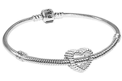 Pandora Armband-Set Beaded Heart 19 cm 08670-19