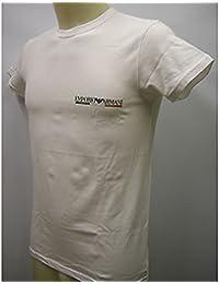 T-Shirt EMPORIO ARMANI homme art. 110853 2P 510 ch. m. t. WHITE 00010