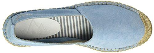 Andrea Conti 1531503, Espadrilles femme Bleu - Blau (hellblau 019)