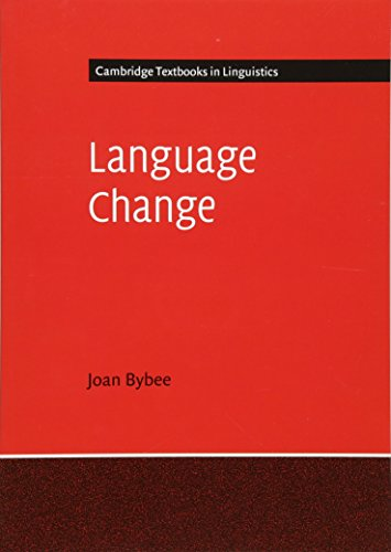 Download Online Language Change (Cambridge Textbooks in Linguistics)
