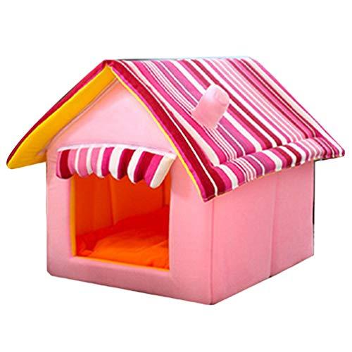 JEELINBORE Plegable Portátil Caseta Casa Mascota