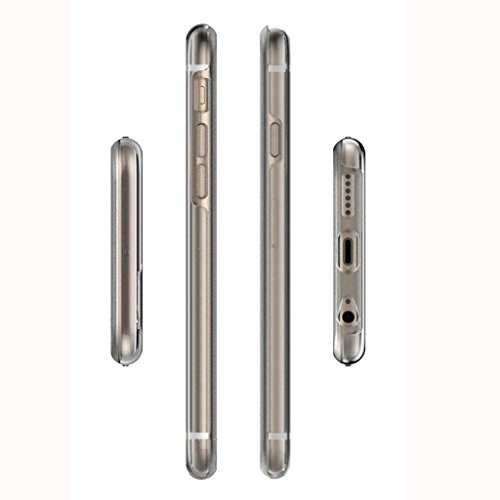 Stoßfest TPU Phone Hülle Tasche Schutzhülle Case Cover für iphone 6 / 6s / 6 plus / 6s plus - Transparent, Iphone 6 / 6S Blau