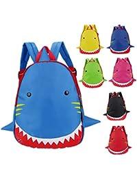 Preisvergleich für Freitop Kinderrucksack Tier Hai Muster ab 1 Jahre Wasserdicht Schulrucksack Rucksack Kindergartenrucksack Schulranzen...