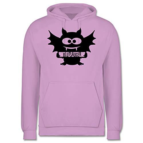 Shirtracer Halloween - Fledermaus - L - Lavendel - JH001 - Herren ()