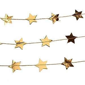 Neviti 772164deslumbrante Navidad-estrella con guirnalda