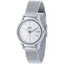 THINKPOSITIVE, Womens watch, Model SE W 132 A Small Milano Steel, Steel Bracelet, Unisex