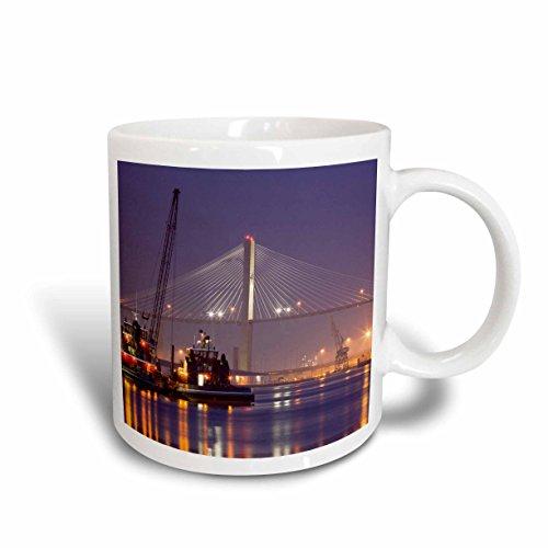 adge, Boote, Savannah-us11jwl0430Joanne Hochwertiger, Tasse aus Keramik, Weiß, 15,2x 12,7cm 8.4499999999999993 ()
