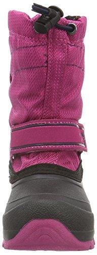 Kamik SNOWCOAST, Bottes mi-hauteur avec doublure chaude mixte enfant Rose - Pink (MAG-Magenta)