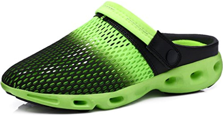 Gaatpot Clogs Pantoletten Unisex Erwachsene Slip on Outdoor Hausschuhe Freizeit Mesh Strand Sandale Schuhe Sommer