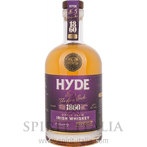 Hyde No. 5 The Aras Cask 1860 Limited Edition Burgundy Cask Finish 46,00% 0.7 l. (Burgundy Finish)