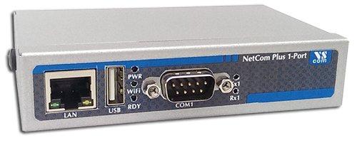 Wlan-ethernet-adapter-brücke (NetCom Plus 111 Serial Device Server RS232)