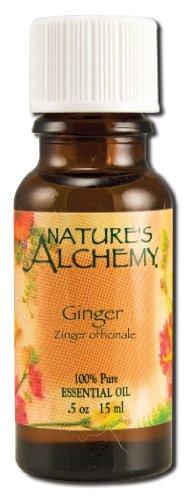 Essential Oil, Ginger, 0,5 oz (15 ml) - Alchimie de la nature