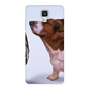 NEO WORLD Premium Dog Fan Back Case Cover for Xiaomi Mi 4