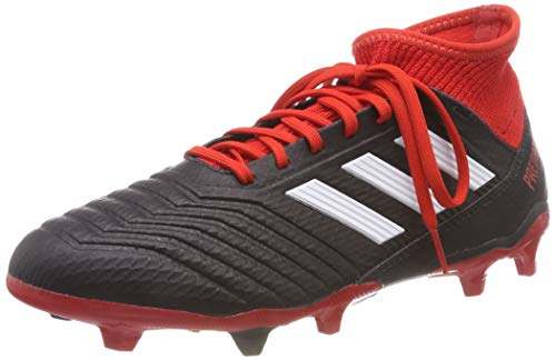 adidas Herren Predator 18.3 Fg Fußballschuhe, Schwarz Negbás Ftwbla Rojo 001, 42 2/3 EU