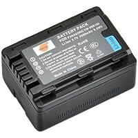 DSTE Ricambio Batteria per Panasonic VW-VBK180 SDR-H100 SDR-H101 SDR-H85 SDR-S50 SDR-S70 SDR-S71 SDR-T50 SDR-T70 SDR-T71 SDR-T76 HC-V10 HC-V100 HC-V100M HC-V500 HC-V500M HC-V700 HC-V700M HDC-HS60 HDC-HS80 HDC-SD40 HDC-SD60 HDC-SD80 HDC-SD90 HDC-SDX1H HDC-TM40 HDC-TM41 HDC-TM55 HDC-TM80 HDC-TM90