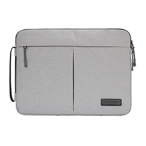 Yedda Nahum Studententasche Laptop Tasche (11-15) Für Acer/Asus/Dell/Fujitsu/Lenovo/HP/Samsung/Sony/Toshiba Aktentasche Tragen Tasche, Gray, 12 inches