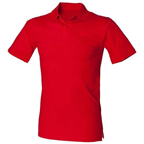HenburyHerren Poloshirt Classic Red