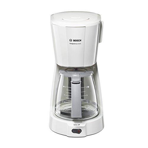 Bosch de Cafetera Goteo Tka3a031 Blanco, 1100 W, 59 Cups, plástico