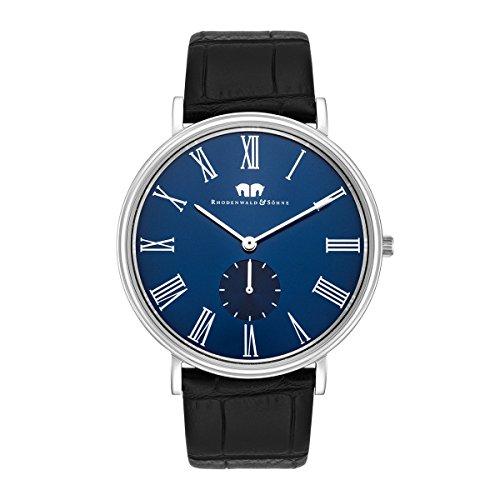 rhodenwald-sohne-richman-secundo-mens-watch-quartz-bracelet-genuine-leather-s-blu-3-atm-10010238