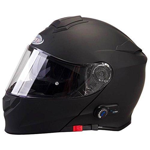 Viper-RS-V171-Bluetooth-30-Casco-modulare-de-moto-Caschi-Modulari-Motorino-ACU-Oro-Timbrato
