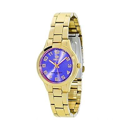 Reloj Marea Señora B21153/5 Dorado y Azul Esfera pequeña