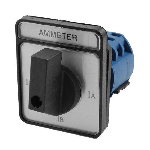 Sourcingmap, a12032700ux0303, CA10-A048 4 Posizione Rotary Cam Universale sostituzione del contante interruttore amperometro