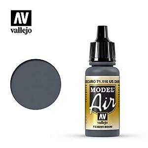Vallejo UK Ext DK - Pintura (17 ml), Color Gris