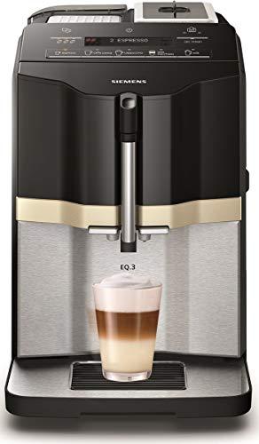 Siemens ti305206rw freistehend Automatische Maschine für Espresso 1.4L 1Tassen schwarz, silber