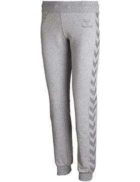 Hummel - Pantaloni per allenamento Classic Bee, da donna, Grigio (grigio), XXL