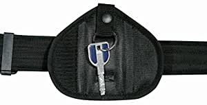 PORTE CLE SILENCIEUX EN CORDURA PROTECTION SECURITE ADS