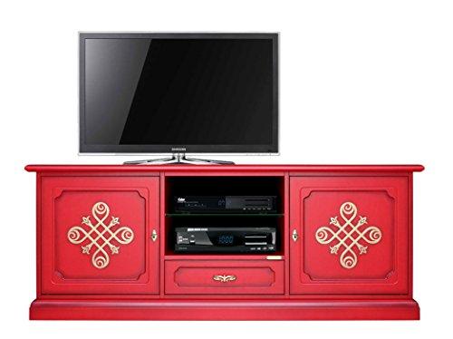 Arteferretto Meuble TV 150 cm Largeur Modène Gold