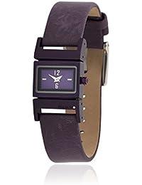 DKNY NY3869–Uhr mit Edelstahlarmband für Damen, lila/grau