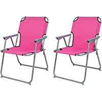 B-Ware Campingstuhl Klappstuhl Faltstuhl Gartenstuhl Strandstuhl klappbar Pink